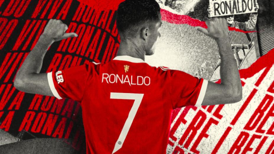 Cristiano Ronaldo Manchester United con el número 7