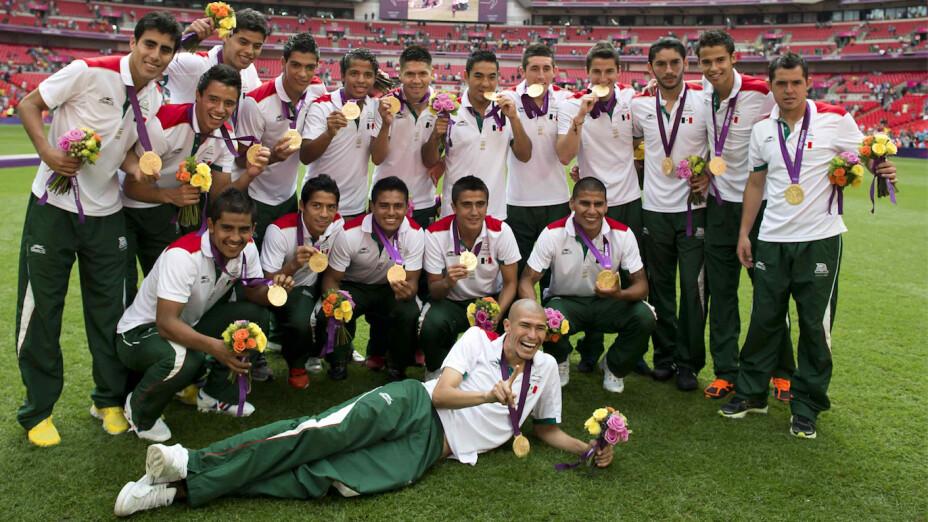 Medallistas mexicanos en futbol Juegos Olímpicos
