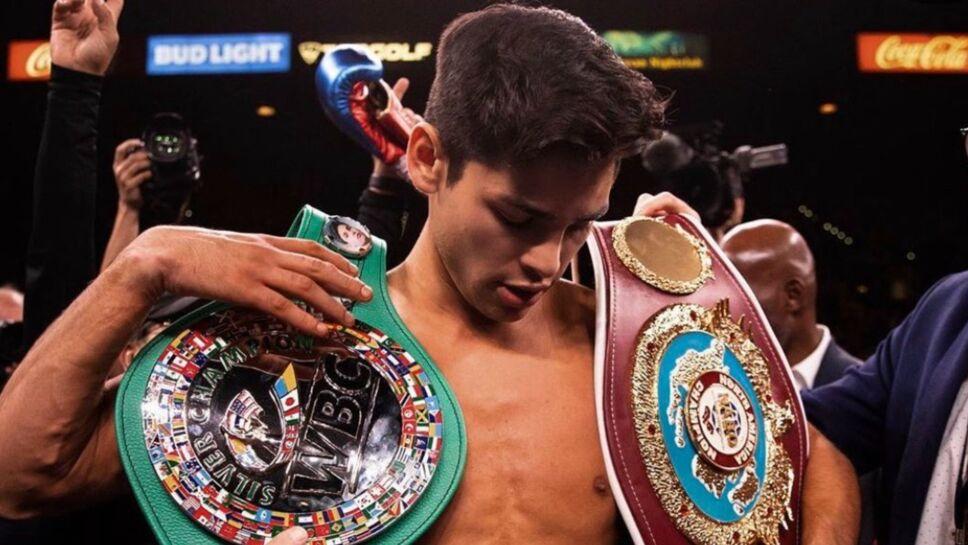 Ryan García pelea vs Manny Pacquiao