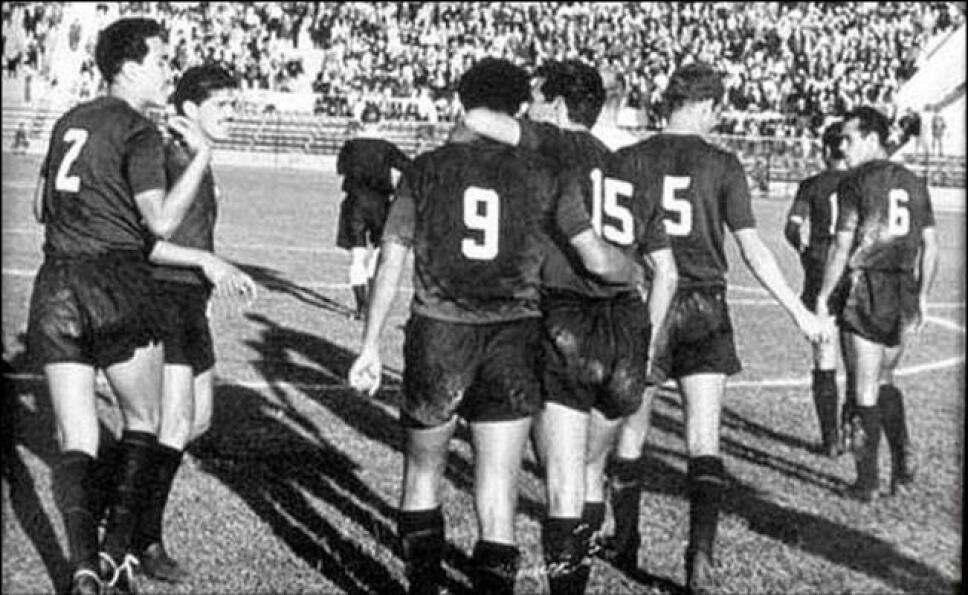La Selección Azteca ganó en Chile 62 ante Checoslovaquia