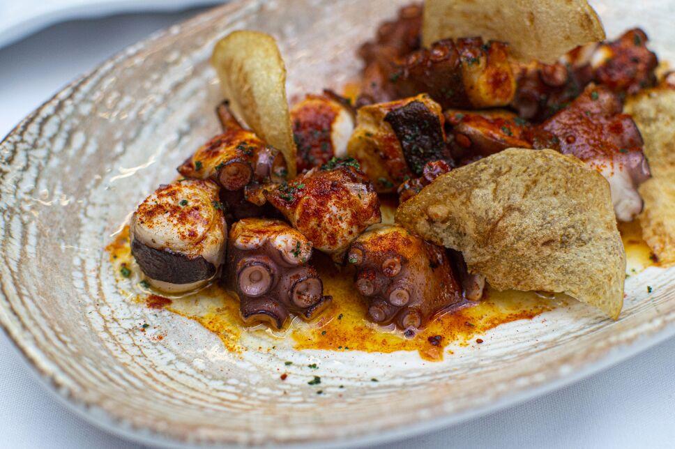 Pulpos gallega zeru restaurante