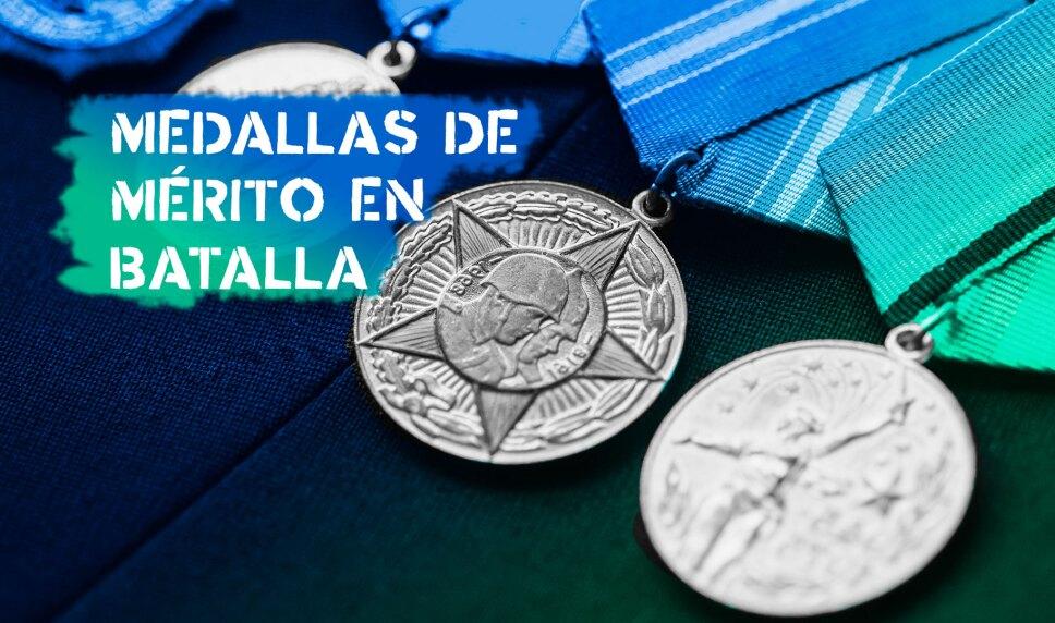 Medallas de Mérito en Batalla