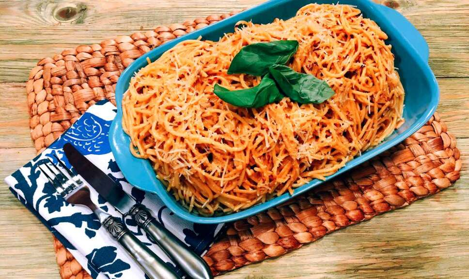Receta Espagueti Alfredo Cocineros Mexicanos