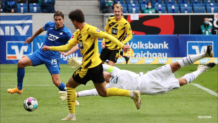Borussia Dortmund suma una victoria en su visita a Hoffenheim