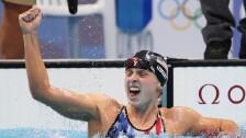 Katie Ledecky gana el oro en Tokyo 2020