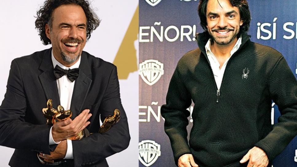 Alejandro González Iñárritu y Eugenio Derbez/ Foto: Especial