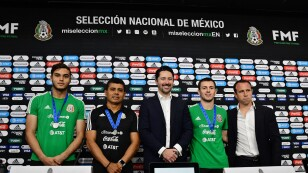 Conferencia de prensa México sub 17