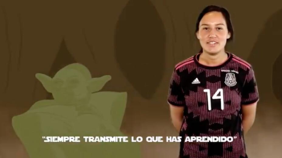Selección Mexicana Femenil Star Wars Day