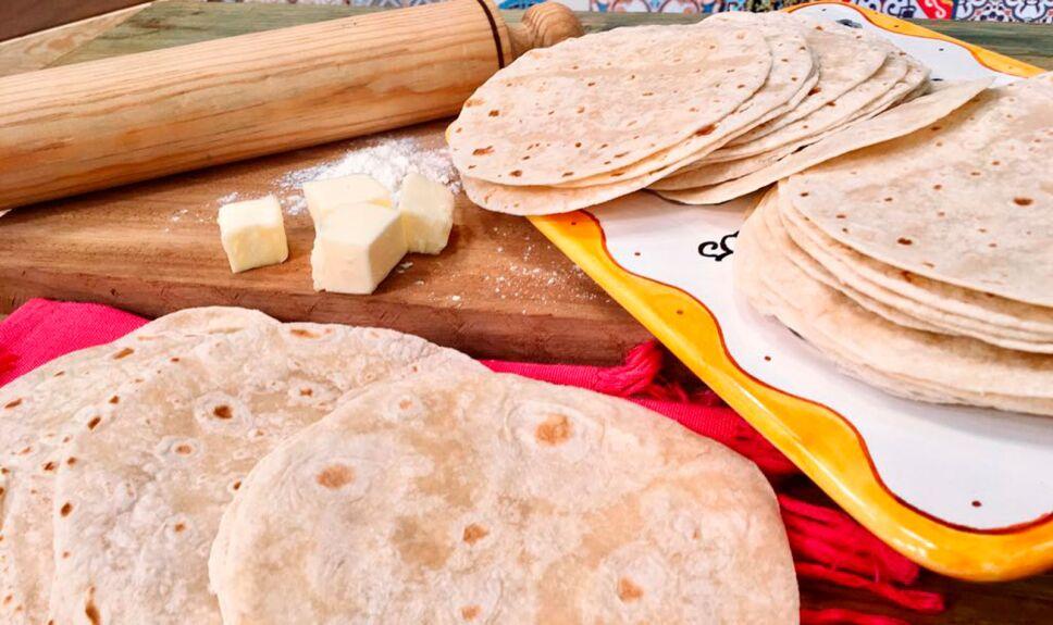 Receta Tortillas de harina