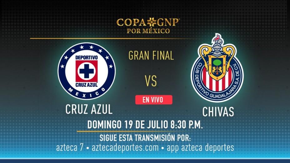 Cruz Azul y Chivas definen al campeón de la Copa GNP