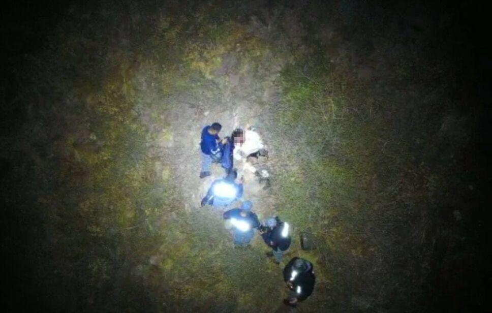 Rescataron excursionistas del cerro de El Xihuingo en Hidalgo (2).jpg