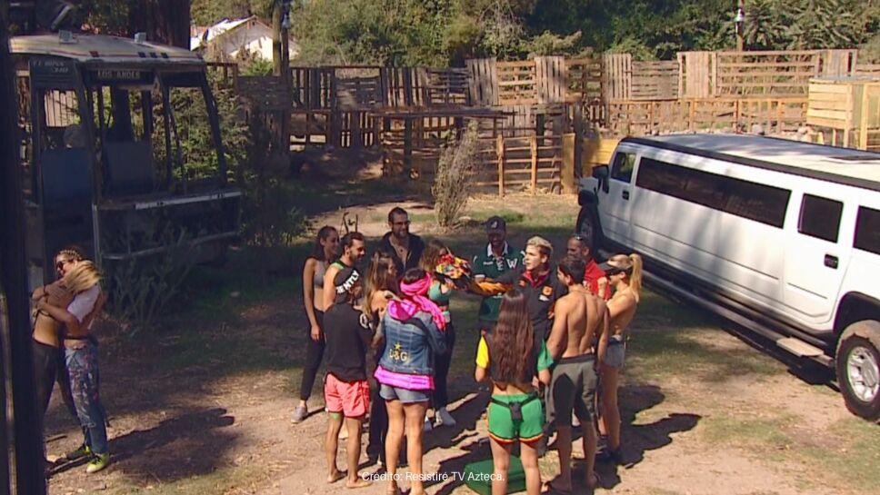 Los Caniggia llegaron con 24 alfajores, que más tarde se convirtieron en motivo de discusión.