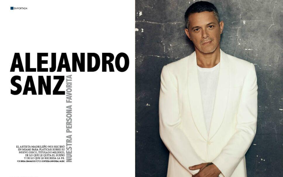 Alejandro Sanz Portada
