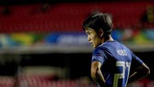 Kubo anotó el gol de la victoria para Japón ante Sudáfrica