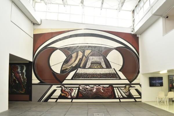 Mural para una Escuela siqueiros