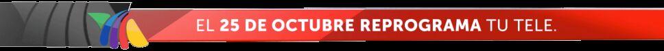 reprograma tu TV 25 de octubre