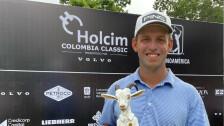 Sam Stevens ganó el Colombia Classic.