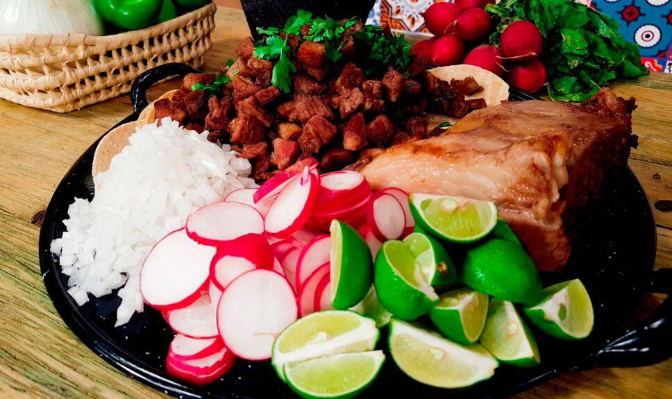 Tacos de suadero estilo chilango