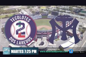 Tecolotes de los 2 Laredos partido ante Sultanes de Monterrey