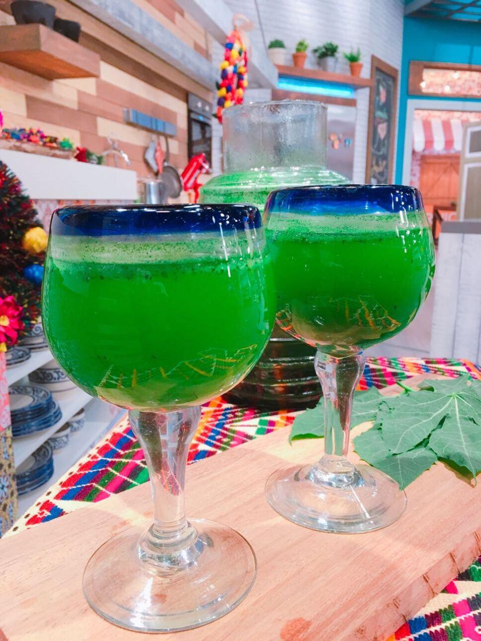 agua de chaya, Cocineros Mexicanos