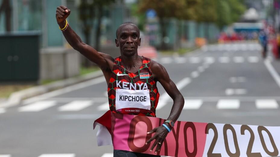 Eliud Kipchoge en Tokyo 2020