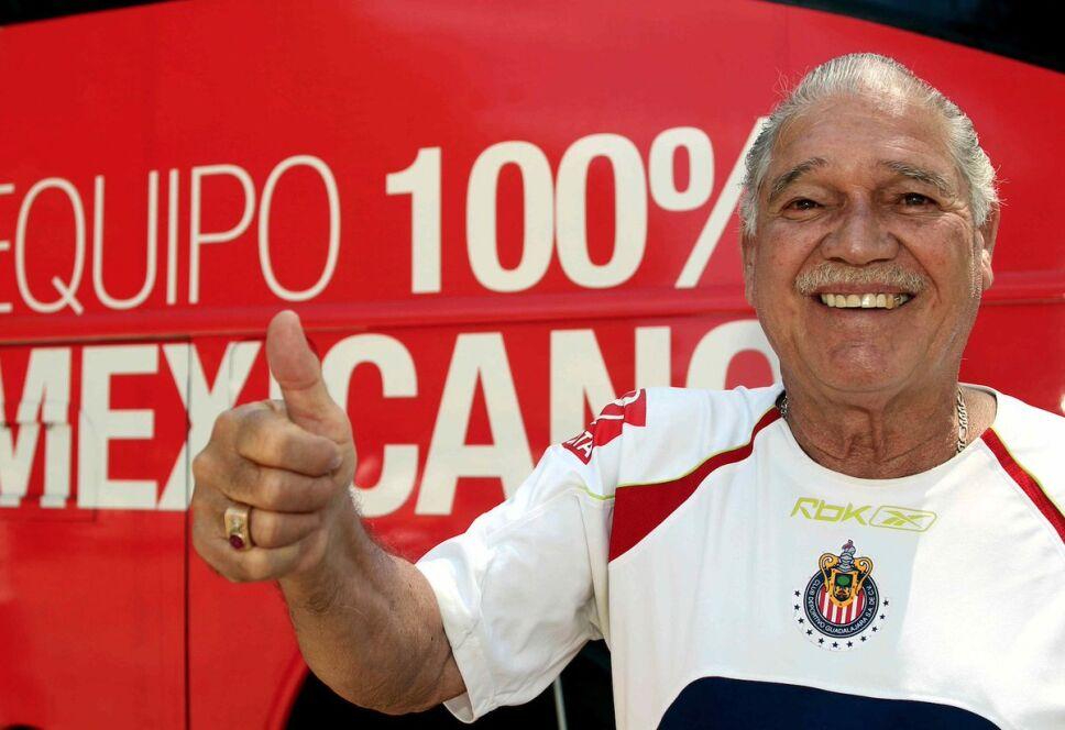 Chava Reyes, leyenda de Chivas