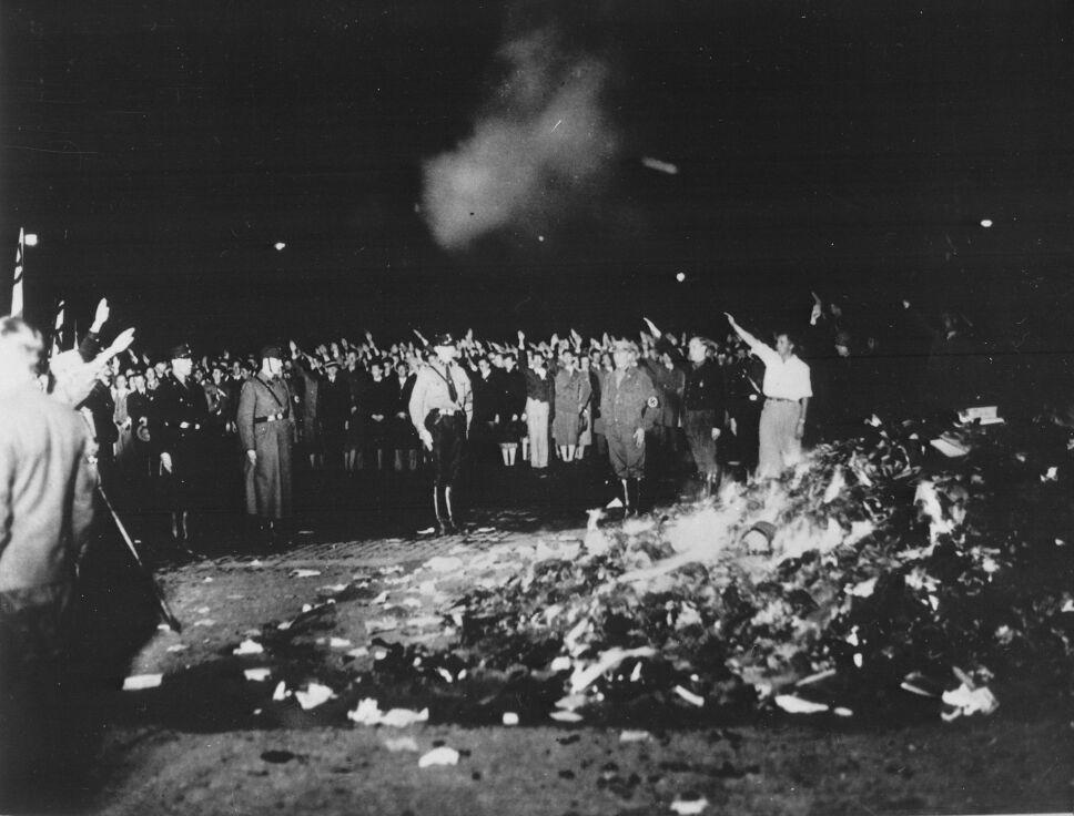 quema de libros nazi 1933