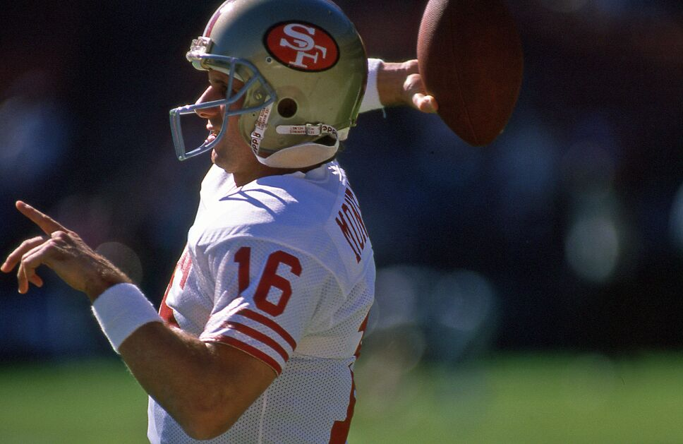 Joe Montana con San Francisco 49ers