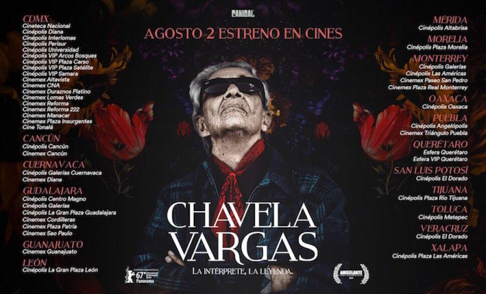 Póster documental Chavela