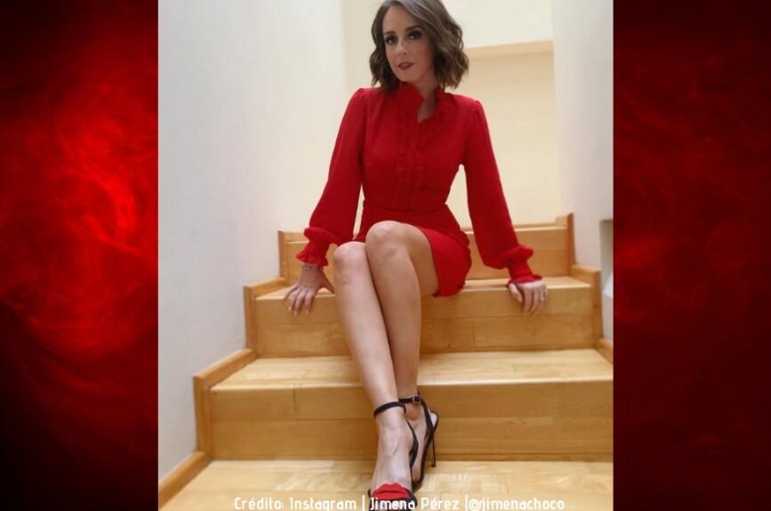 La belleza de Jimena Pérez la podremos disfrutar en cada audición de La Voz.