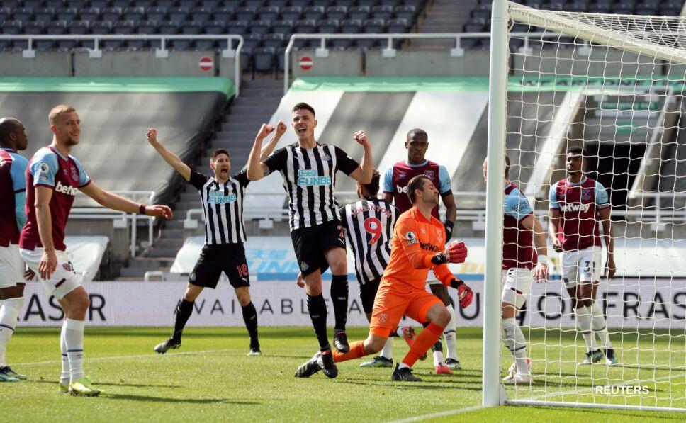 Newcastle vs West Ham