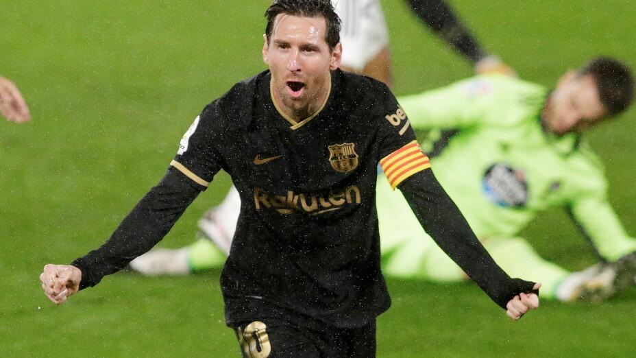 La Liga Santander - Celta Vigo v FC Barcelona, Lionel MESSI
