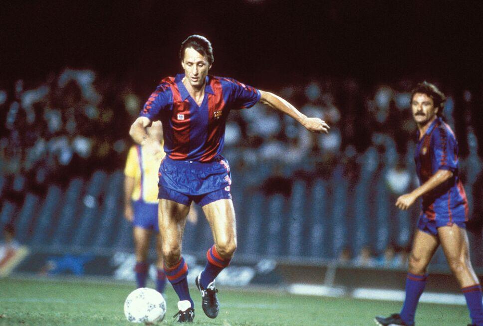 La filosofía del futbol total de Johan Cruyff en el Ajax y Barcelona