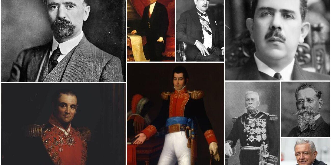 Todos los presidentes de México, lista completa de 1824 hasta la actualidad