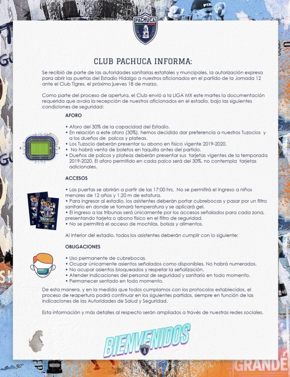 Comunicado Estadio Hidalgo Pachuca.jfif