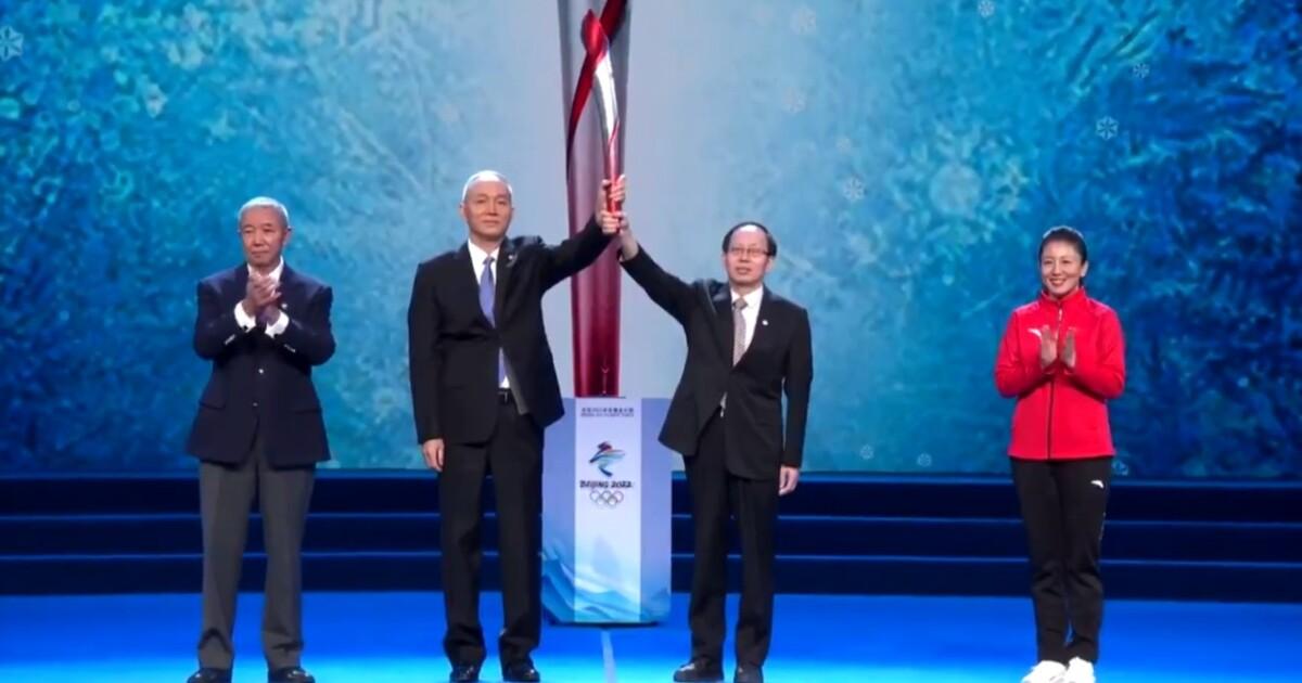 VIDEO: Beijing presenta la Antorcha Olímpica de los Juegos de Invierno 2022