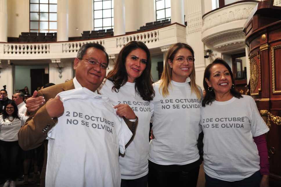 Diputados de Morena, cinturón de paz