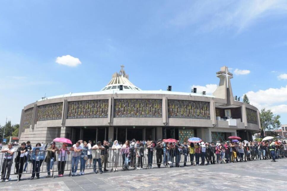 exterior basilica de guadalupe