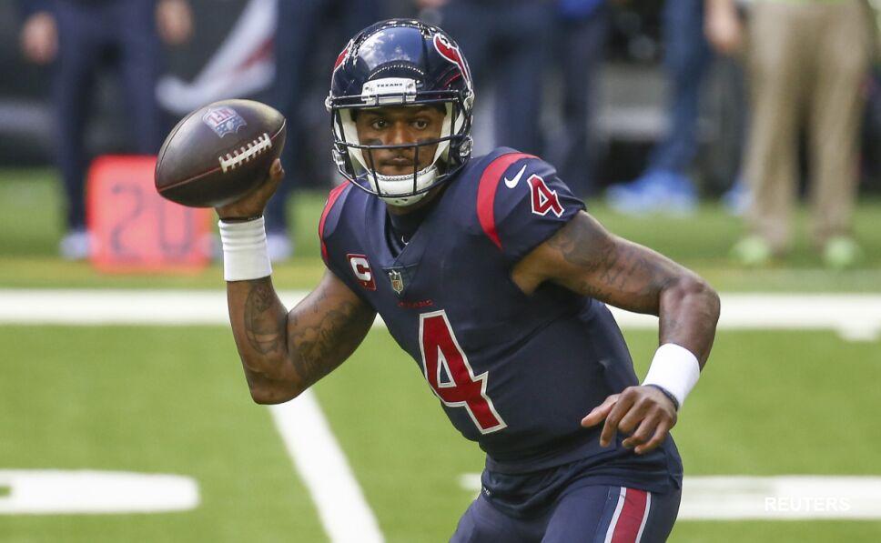Deshaun Watson, quarterback de los Texanos de Houston