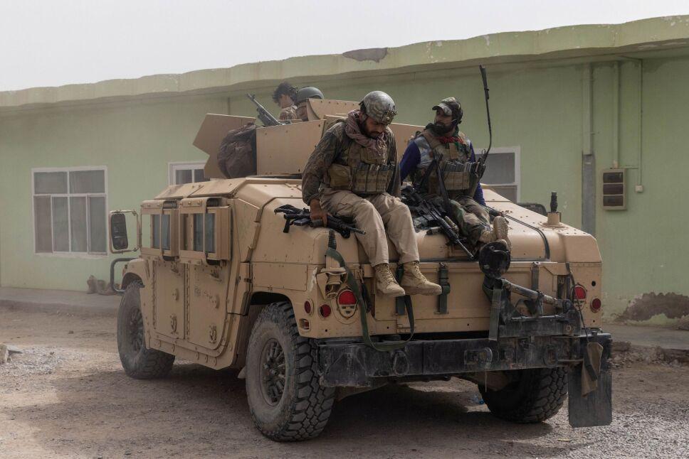 Misión de rescate en Afganistán