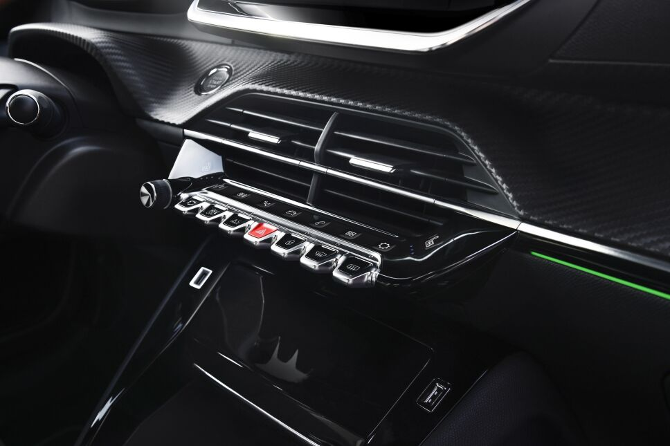 Interior Peugeot 208 2022
