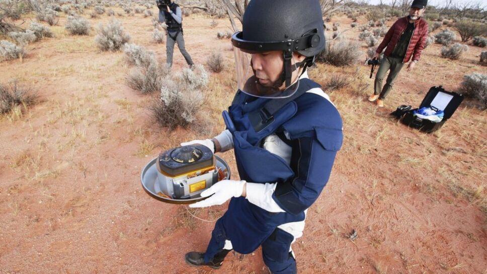 Regresa cápsula de Japón con muestras de asteroides recuperadas en Australia