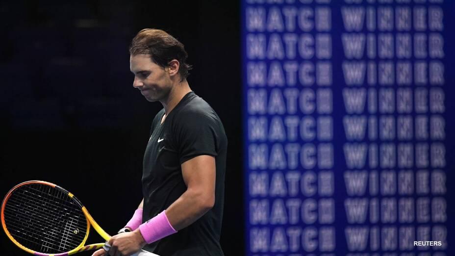 Rafael Nadal cae en el ATP Finals