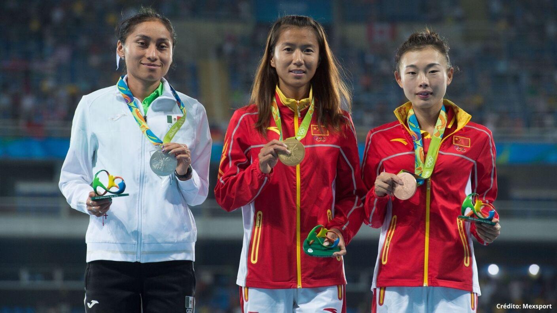 2 medallistas mexicanos en Río 2016 Juegos Olímpicos.jpg
