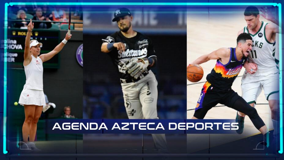 Agenda deportiva 8 de julio
