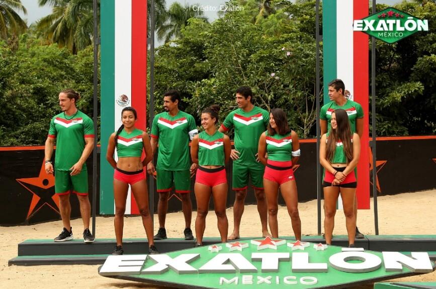Exatlón México vs Hungría 28 ene