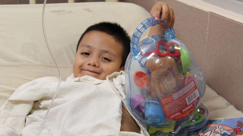 jugueton en hospitales