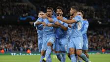 Manchester City aplastó al Leipzig en Champions League.
