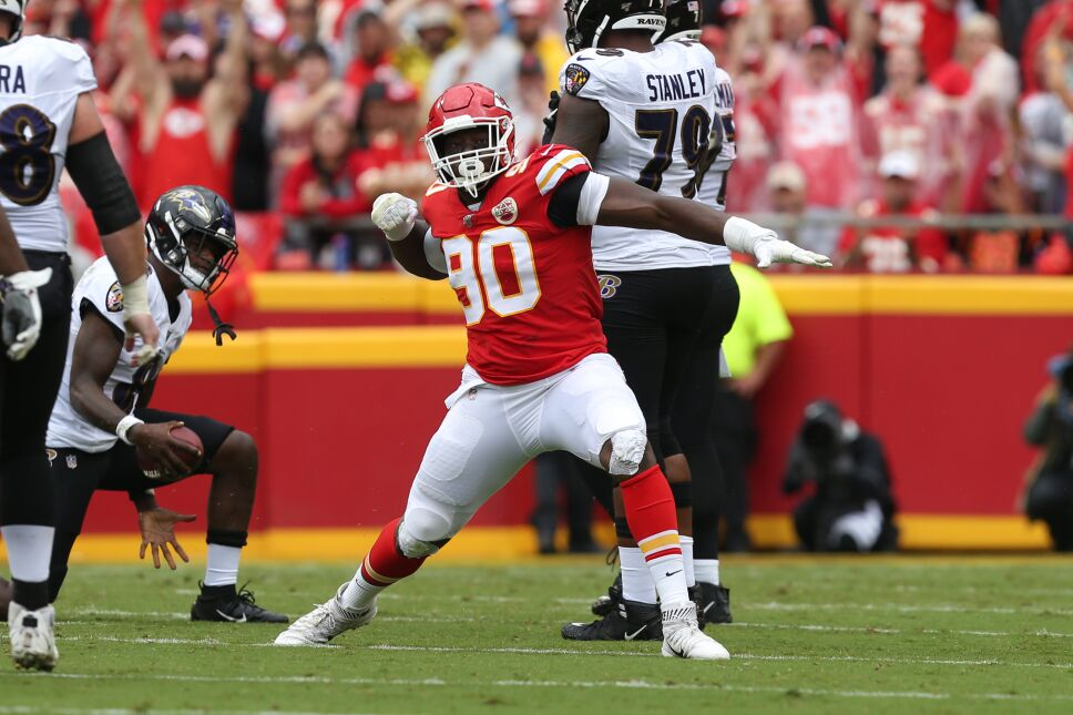 NFL: SEP 22 Ravens at Chiefs