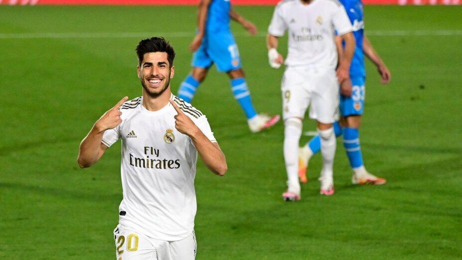Marco Asensio regresó y anotó gol